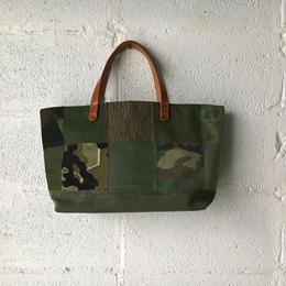 #350 patched tote midium