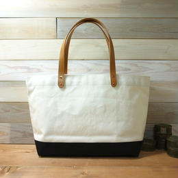 "Japanese Made Canvas Tote M Size ""black"""
