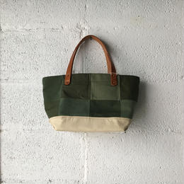 #352 patched tote mini