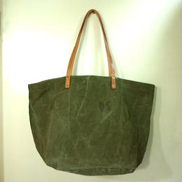 #0099 vintage military dufflebag reworked bag