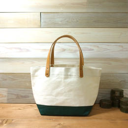 "Japanese Made Canvas Tote S size ""green"""