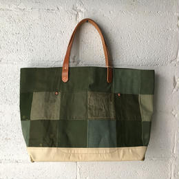 #346 patched tote large