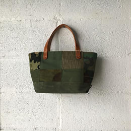 #351 patched tote mini