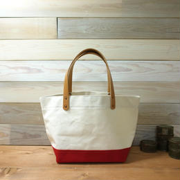 "Japanese Made Canvas Tote S size ""red"""
