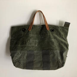#497 1970's duffle and 1980's kitbag mashup messenger