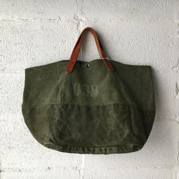 #288 1970's duffle bag custom tote