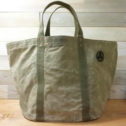 #0087 vintage military dufflebag reworked bag