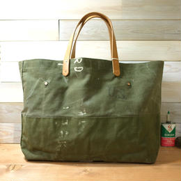 #0101 vintage military dufflebag reworked bag