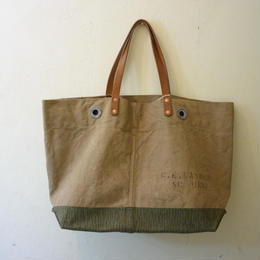 #0115 vintage military dufflebag reworked bag