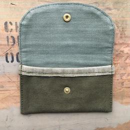 vintage fabric card case