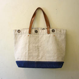 #0117 1940's U.S Navy Sea Bag reworked bag