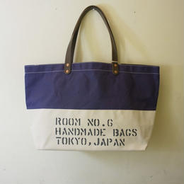 Room No.6 Original Tote Large Size (waxed canvas)