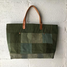 #345 patched tote large