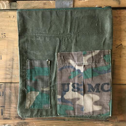 1960's military fabric  pouch