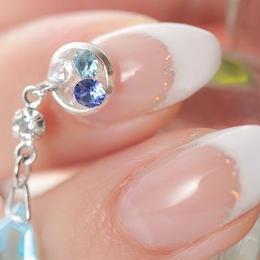 スワロフスキー swing blue L