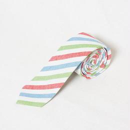 STRIPE PREP - 細いネクタイ