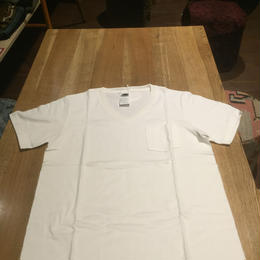 blurhms  Standard Pocket V-neck Tee メンズ