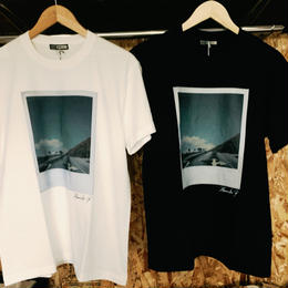 【OCTA DAYRY.】PORALOID FILM PHOTO , GLAFICAL T-SHIRT 852494