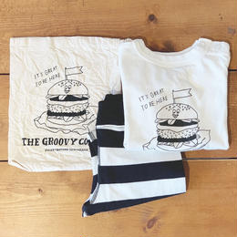【GROOVY COLORS】天竺 HONGAMA BURGER BABY SET