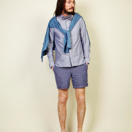 【SALE】 blurhms ブラームス chambray shorts