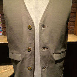 【SALE】  blurhms ブラームス メンズ Rigid Jersey vest