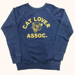 "〈MIXTA〉""CAT LOVER"" SWEAT(RAGLAN SLEEVES)"