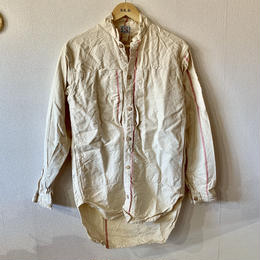 【TENDER Co.】SUMP CLOTH RINSE WASH PERISCOPE POCKET TAIL SHIRT
