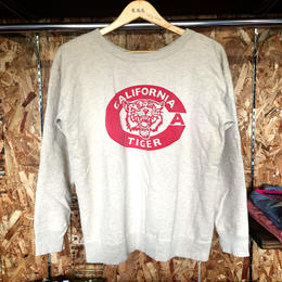 "【Mixta】"" CA TIGER "" CREW NECK SWEAT"
