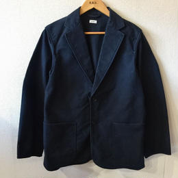【blurhms】Extra Cotton Heavy Moleskin Jacket