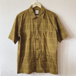 【SAGE DE CRET】ローンチェックパナマシャツ