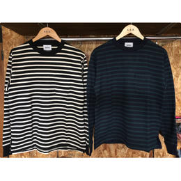 【blurhms】Middle-Weight & SuperSoft Pocket L/S BDR