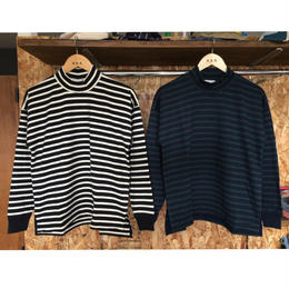 【blurhms】Middle-Weight & SuperSoft Mock-Neck L/S BDR