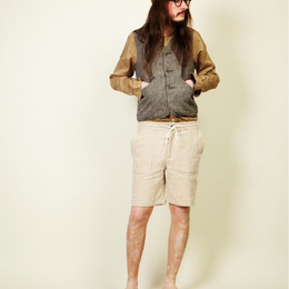 【SALE】blurhms  ブラームス withered linen vest