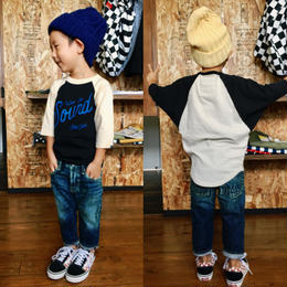 【DENIM DUNGAREE】12ozHOME MADEデニム 5P (SIZE100-120)