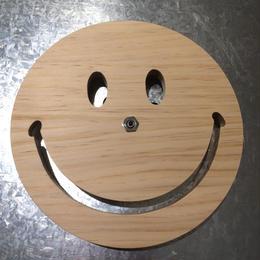 """【ラス1】SECOND LAB. """"SMILE"""" clock (Wood)"""