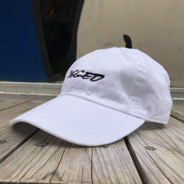 【ラス1】RUGGED ''RACING LOGO'' adjuster cap (White)