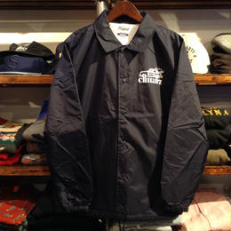 "【残り僅か】RUGGED ""CHILLIN'Z"" coach jacket (Navy)"