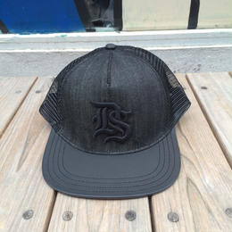 "【残り僅か】DENIM & SUPPLY ""Black Denim"" mesh cap"