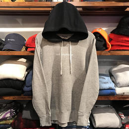 "【残り僅か】RUGGED "" not supr*me"" light hoody(Gray)"