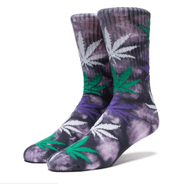 "【ラス1】HUF ""PLANTLIFE STRAINS"" CREW SOCK (White Widow)"