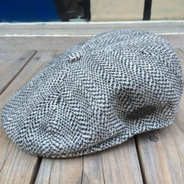 【ラス1】 KANGOL Wool Herringbone 504 (Black)