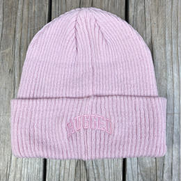 "【残り僅か】RUGGED on Champion ""ARCH LOGO"" beanie(Pink)"