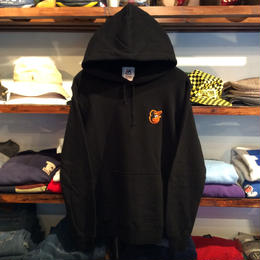 "Majestic ""ORIOLES one point"" hoody(Black)"