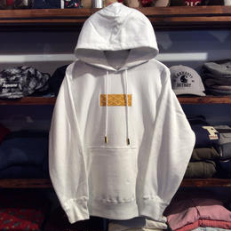 "【ラス1】AnotA ""GOX"" hoody (White×Yellow)"