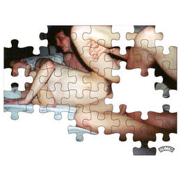 "RUGGED ""SEX PUZZLE"" sticker"