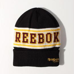 【残り僅か】Reebok logo beanie (Black)