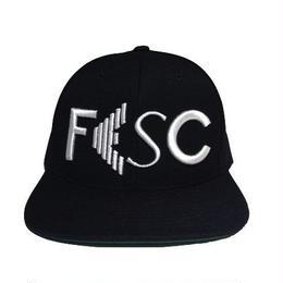 """【残り僅か】FESC """"LOGO"""" Snapback (Black/White)"""