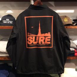 """【ラス1】RUGGED """"SURE"""" coach jacket(Black)"""