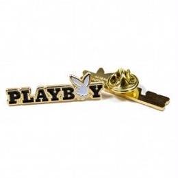 【残り僅か】Good Worth&Co × PLAYBOY Bunny Text Pin