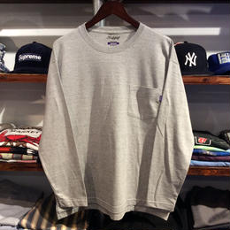 RUGGED pocket L/S tee(Gray)